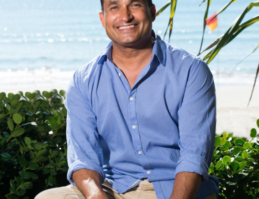 Peter Kuruvita - Corporate Portrait on the Sunshine Coast