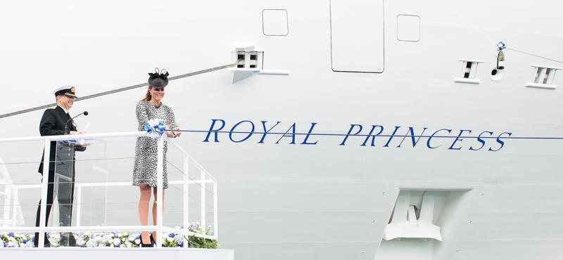 Princess Cruises, Royal princess Naming Ceromony,13.06.2013